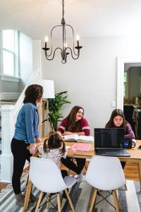 Running a business from home with kids